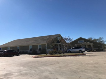 Photo of buildings located at 4409 John Stockbauer Dr in Victoria, TX on a commercial real estate property for sale.