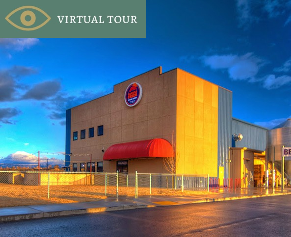 Image of front entrance of brewery, also hyperlinks to Virtual Tour of 905 Struthers Ave, Grand Junction, CO.